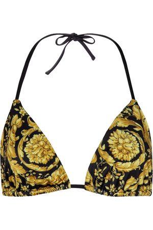 VERSACE Kvinder Bikinier - Barocco triangle bikini top
