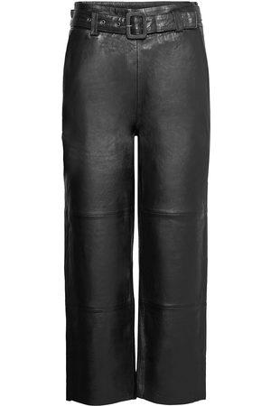 Gestuz Kvinder Leggings - Storiagz Pants Noos Leather Leggings/Bukser