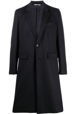 VALENTINO Mænd Frakker - Enkeltradet frakke i jomfru-uld