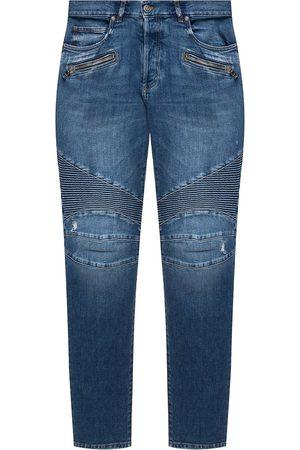 Balmain Raw edge jeans