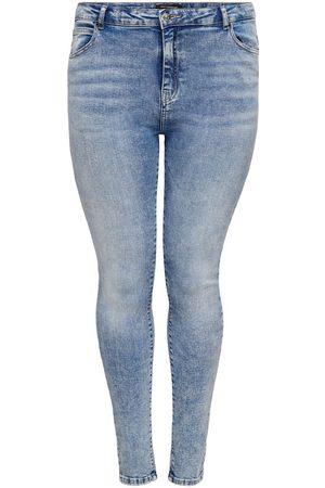 Only Curvy Carlaola Life Hw Skinny Fit Jeans Kvinder