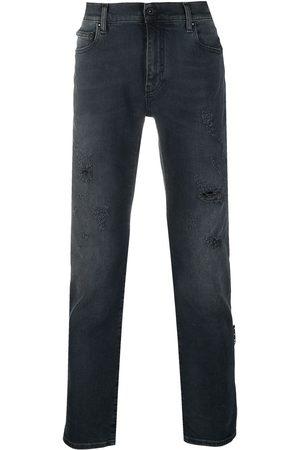 OFF-WHITE Bootcut-jeans med slitageeffekt