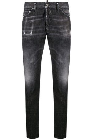 Dsquared2 Whiskered jeans med smal pasform