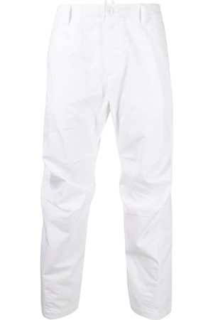 Dsquared2 Cropped chino-bukser med smalle ben