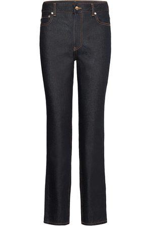 Ganni Kvinder Slim - Raw Denim Slim Jeans