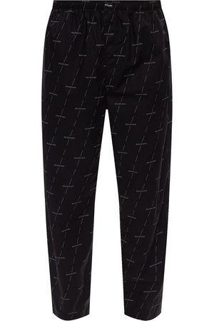 Balenciaga Trousers with logo