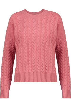 Max Mara Breda cable-knit wool-blend sweater