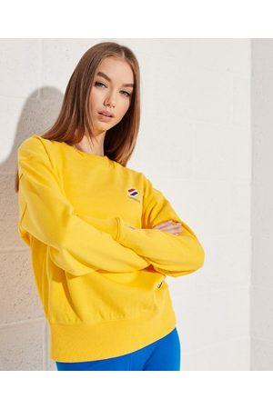 Superdry Kvinder Sweatshirts - Sportstyle Essential sweatshirt med rund hals