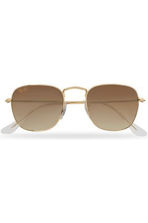 Ray-Ban Mænd Solbriller - RB3857 Frank Sunglasses Gold/Gradient Brown