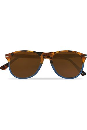 Persol PO9649S Sunglasses Havana Yellow/Blue