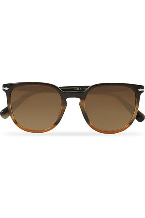 Persol Mænd Solbriller - PO3226S Sunglasses Striped Brown
