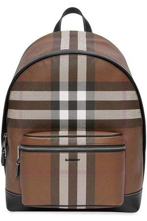 Burberry Mænd Rygsække - Check-pattern backpack