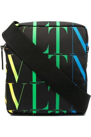 VALENTINO GARAVANI Mænd Skuldertasker - Messenger-taske med VLTN-logotryk