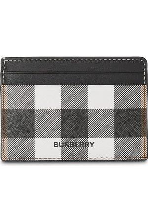 Burberry Mænd Punge - Check print cardholder