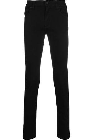 Dolce & Gabbana Mænd Skinny - Logo-embossed skinny jeans