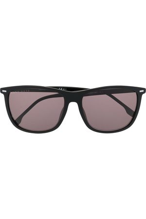 HUGO BOSS Solbriller - Tinted square-frame sunglasses