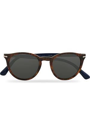 Persol PO3152S Sunglasses Dark Havana/Grey
