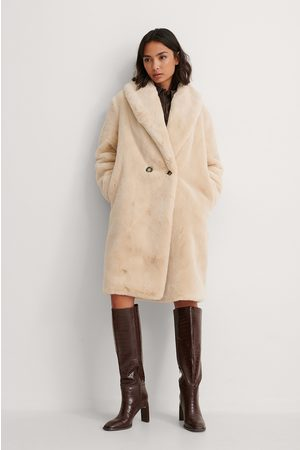 MANGO Kvinder Pelsjakker - Faux Fur Frakke