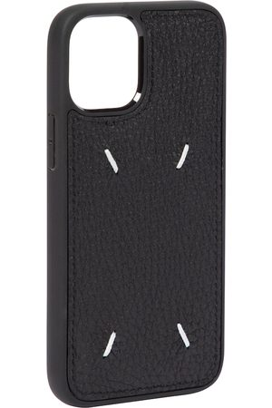Maison Margiela Kvinder Mobil Covers - Leather iPhone 12 Mini case