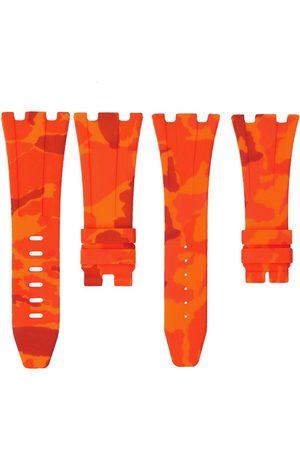 HORUS WATCH STRAPS Camouflage-pattern adjustable watch strap