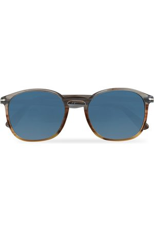 Persol PO3215S Sunglasses Brown/Gradient Blue