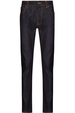 Nudie Jeans Lean Dean Dry jeans med smal pasform