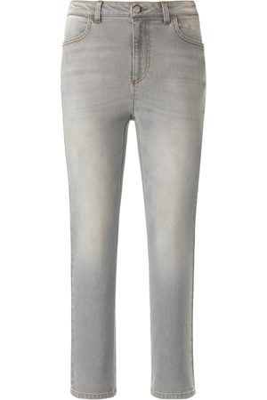 DAY.LIKE Ankellange Slim Fit-jeans Fra grå