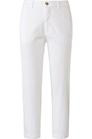 DAY.LIKE Kvinder Slim bukser - Slim Fit 7/8-buks i chinostil Fra