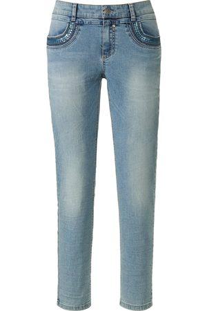 Glücksmoment Kvinder Jeans - Ankellange jeans model Grace Fra denim