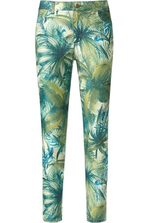 Peter Hahn Ankellange jeans pasform Sylvia Fra grøn