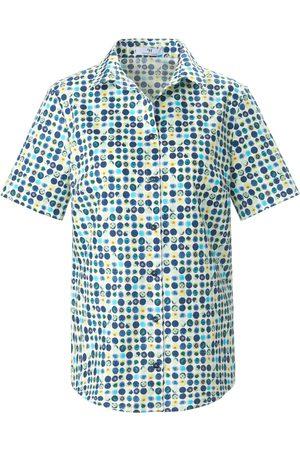 Peter Hahn Kvinder Langærmede - Skjorte korte ærmer Fra hvid