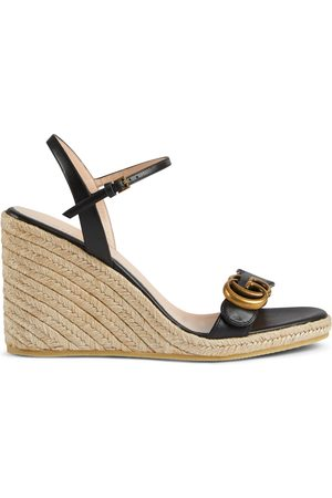 Gucci Kvinder Pumps - Women's leather platform espadrille