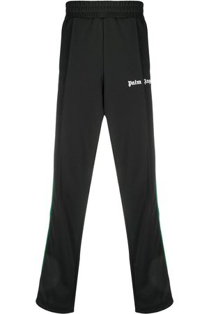 Palm Angels COLLEGE TRACK PANTS BLACK WHITE