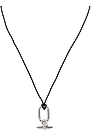 CAPSULE ELEVEN Cartouche halskæde med vedhæng