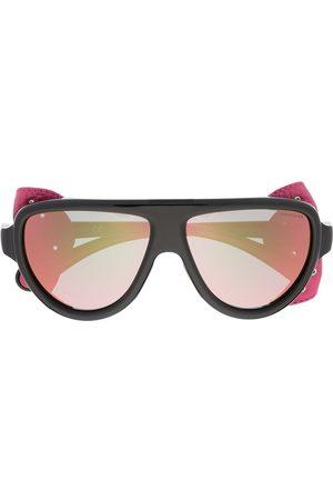 Moncler Solbriller med aftagelig sideskygge