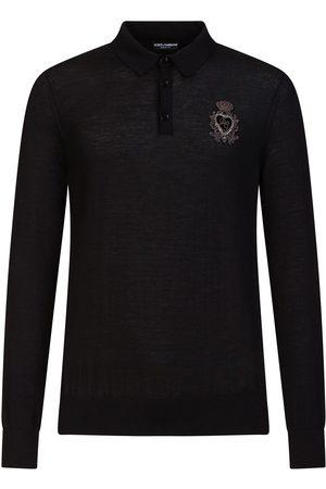 Dolce & Gabbana Langærmet skjorte med broderi