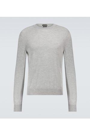 Tom Ford Mænd Strik - Cashmere and silk-blend sweater