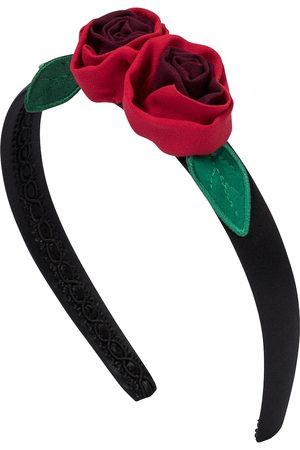 Dolce & Gabbana Floral appliquéd headband