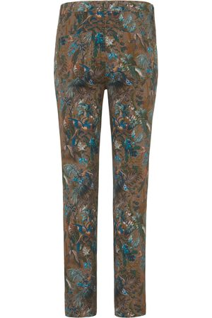 Peter Hahn Kvinder Jeans - Ankellange jeans i pasformen Barbara Fra brun