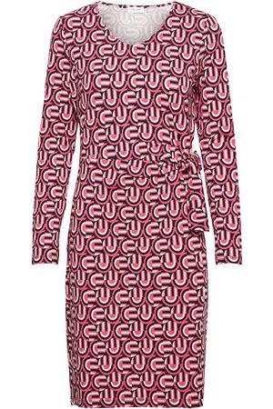 Gerry Weber Kvinder Strikkede kjoler - Dress Knitted Fabric Knælang Kjole Rød
