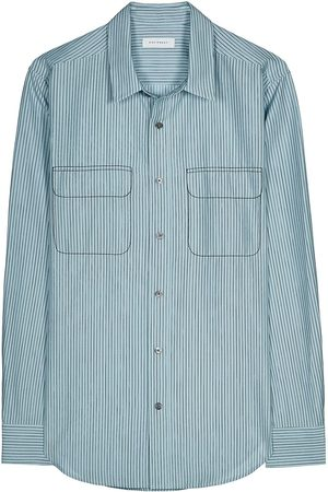 Equipment The Slim Fit pinstripe shirt