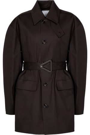 Bottega Veneta Stretch-cotton gabardine coat