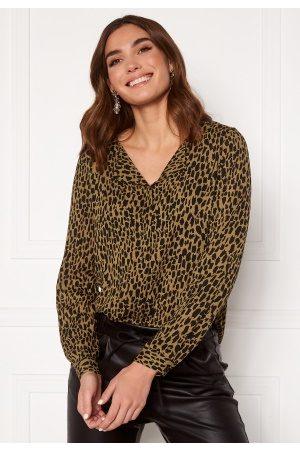 Vila Lucy L/S Shirt Butternut Wild S