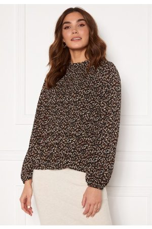 Sisters Point Vaida Blouse Black/Small Flower M