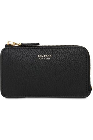 Tom Ford Medium Leather Zip Wallet W/ Card Slot