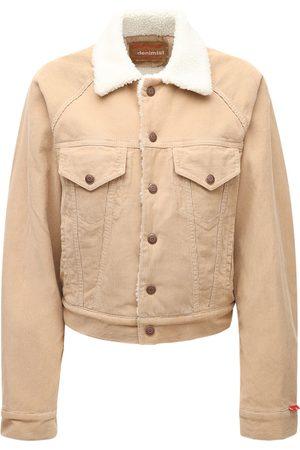 Denimist Cotton Denim & Faux Shearling Jacket