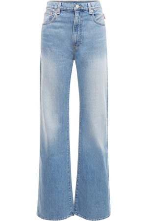 Denimist Evelyn High Waist Denim Wide Leg Jeans