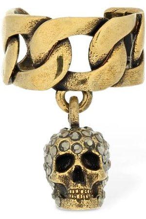 Alexander McQueen Chain Skull Mono Ear Cuff