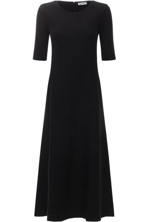 CASASOLA Agata Silk Knit Midi Dress