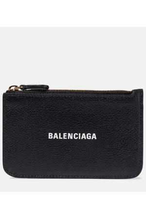 Balenciaga Cash leather wallet